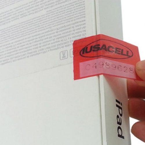 Etiquetas y cintas de seguridad